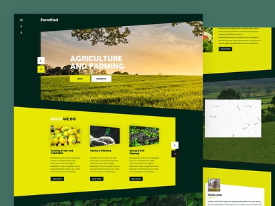 Farmfiled business shop healt food farming food css template bootstrap html5 responsive