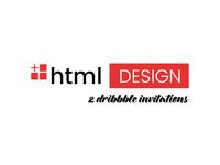 New Logo + 2 Dribbble Invitations