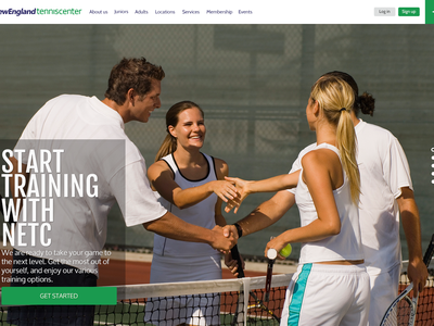 Tennis Club new website design website web ui design ux design webdesign