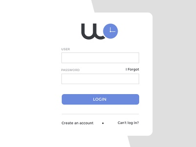 Login Work journal web applications login user interface uxui