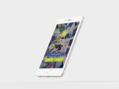 Mobile Application Login ui design ux ui user interface ios android mobile applications