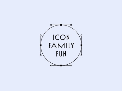 Icon Family Fun Workshop workshop iconography icon design custom icons