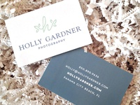 Holly Gardner Biz Cards