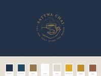 Sattwa chai brand identity 800