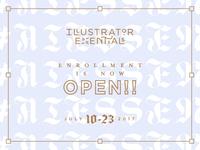 Illustrator Essentials is LIVE!! ✨✨✨