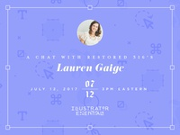 A Chat with Lauren Gaige of Restored 316 ✨