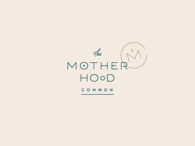 The Motherhood Common Logo doula birth tmc pregnancy pregnant logotype badge monogram baby typography lettering mama mother motherhood mark identity logo branding