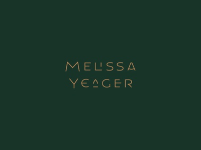 MY New Logo ✨ my monogram wordmark logo design mid century modern art deco ligatures logotype mark lettering logo identity branding