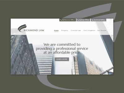 Richmond Law Website