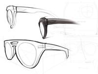 """Sketches for """"Roadster"""" Frames"""