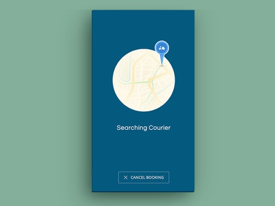 App Courier courier appdesign mobile illustration interface ux ui android