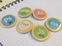 Web Designer Merit Badges