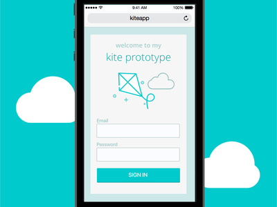 Prototyping with Kite Compositor iphone ios kite compositor prototype kite