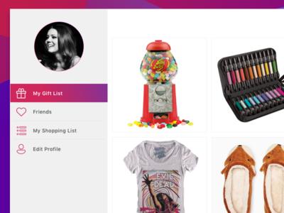 Gift List App