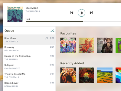 Music Player mp3 player desktop controls audio player music player mp3 audio music daily ui