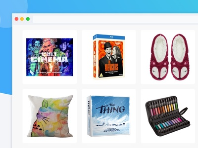 Trove Gift List App product design ecommerce product products branding ui app gift list gift