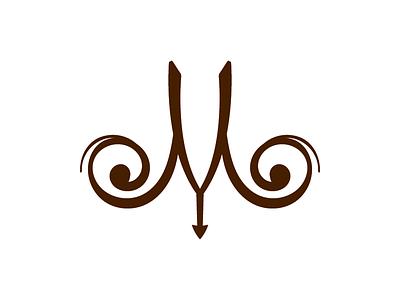Logo Concept for Mud & Yarn logo brand craft typography illustration homemade