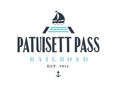 Logo Concept for Patuisset Pass Railroad