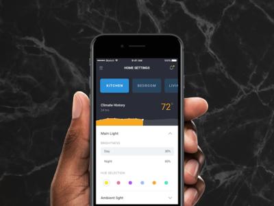 Smart Home - Settings UI