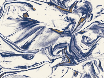 Marbled Paper swirl navy gold editorial texture paper marble