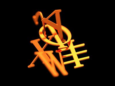 Phoenik Serif typeface serif font serif typeface type font 3d illustration typography design