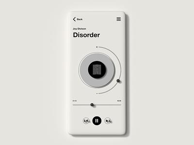 Player playerui player webdesign appdesign app design neumorphism neumorphical neumorphic ux ui