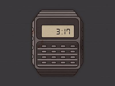 Fallout Calculator Watch? casio fallout grunge calculator watch