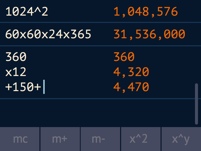 Daily UI 004 - Calculator daily ui calculator 004 dailyui