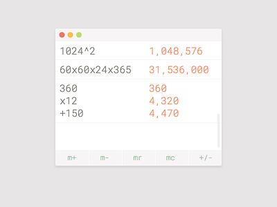Daily UI 004 v2 - Calculator daily ui 004 calculator dailyui