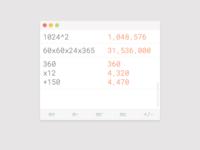 Daily UI 004 v2 - Calculator