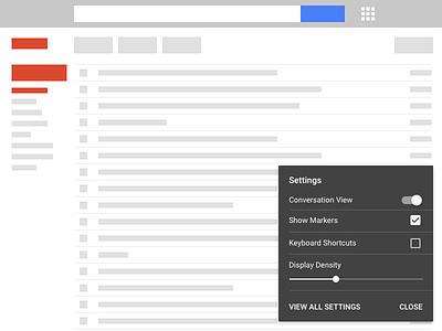 Daily UI 007 - Settings daily ui 007 ui daily gmail settings
