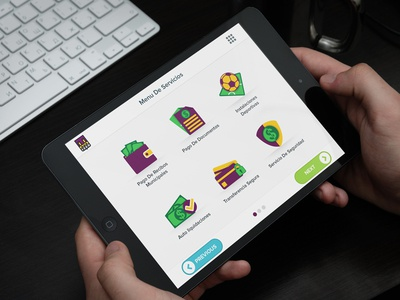 Home Screen & Icon Design for KIOSK Application by Reazur Rahman ...