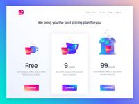 Pricing Page - A Messenger app for Slack