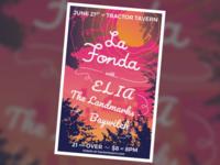 La Fonda concert poster