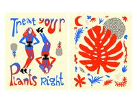 Good Plants — Zine Illustrations