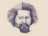 Frederick Douglass sketch
