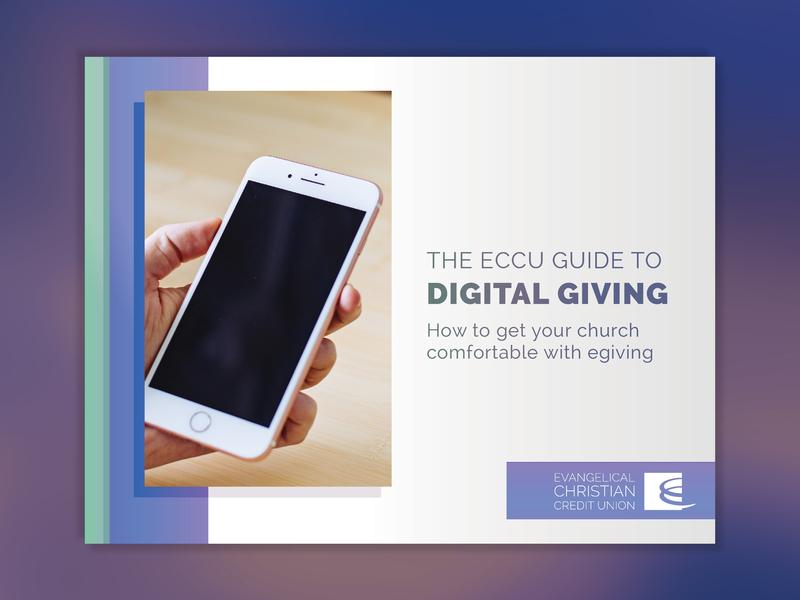 The ECCU Guide to Digital Giving content marketing pdf digital publishing publishing layout book cover mockup book cover design ebook ebook design book cover
