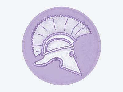 Roman Helmet texture drawing soldier roman badge fight military rome