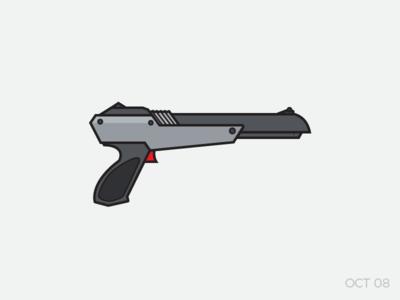 NES Zapper challenge shooter outline icon zapper nintendo