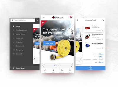 Mobile App Store Concept concept fire app mobile