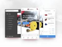 Mobile App Store Concept