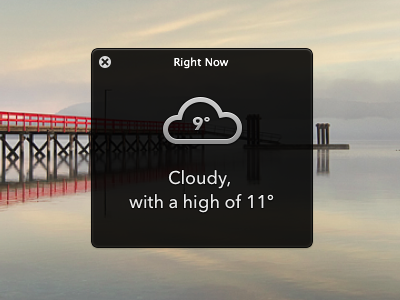 Weather stroke icons