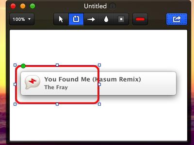 Annotate for Mac - (multi)Shape tool