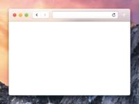 Yosemite Safari (Refined Text Input Field)