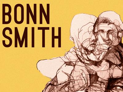 Bonn Smith's debut album, Secret Lives bonn smith secret lives music album debut typography acoustic illustration print