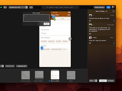 Curve for Mac - Detail View client work apple interface design ui macos mac
