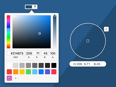 Flinto Colo(u)r Picker ui macos color picker interface design
