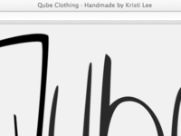 Qube Clothing is now Live