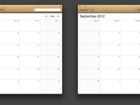 Calendar.app paper cleanup full