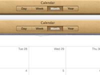 OS X Calendar.app Torn Paper Cleanup